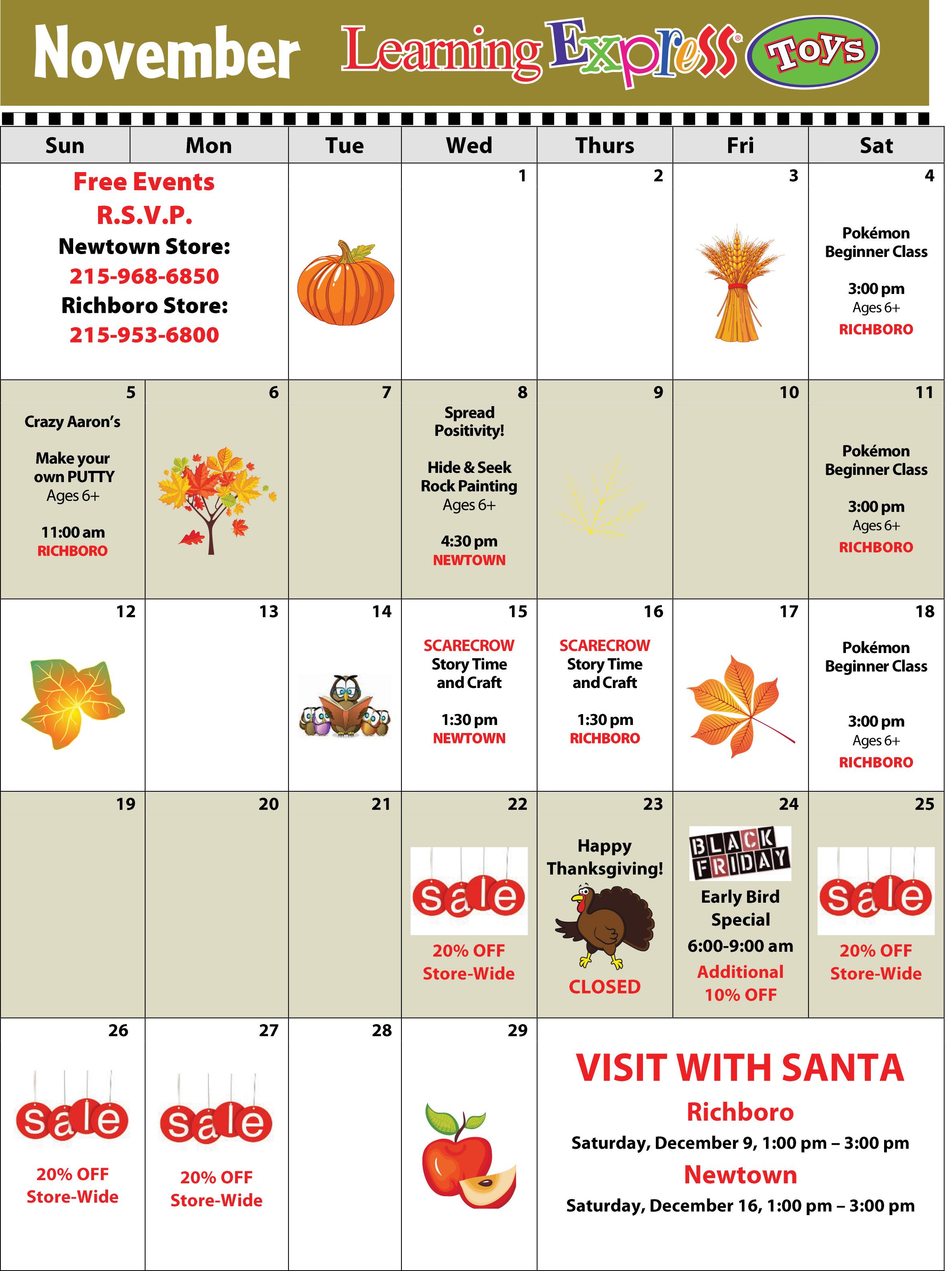 November Calendar 2017-1